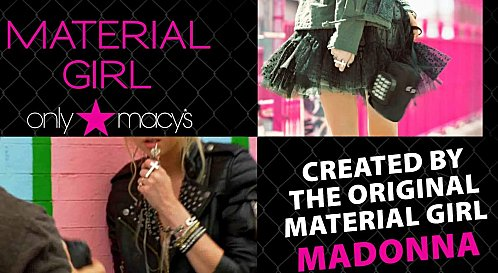 "The Madonna's collection "" MATERIAL GIRL """